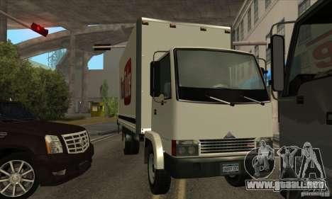 Camión con logotipo de YouTube para la visión correcta GTA San Andreas