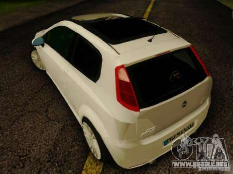 Fiat Grande Punto CLD Style para GTA San Andreas left