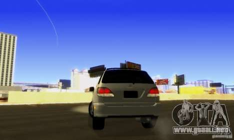 Lexus RX300 para visión interna GTA San Andreas