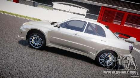 Subaru Impreza STI Wide Body para GTA motor 4