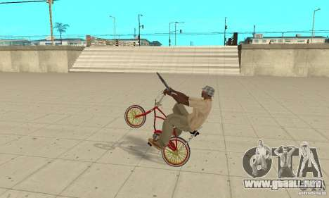 CUSTOM BIKES BMX para la visión correcta GTA San Andreas