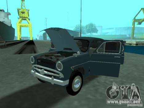 Moskvich 407 para visión interna GTA San Andreas