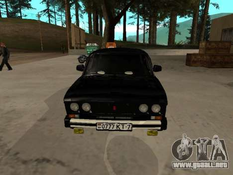 21065 VAZ v2.0 para GTA San Andreas left