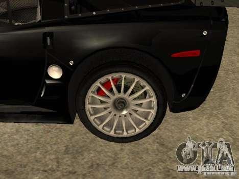 Chevrolet Corvette C6.R para la visión correcta GTA San Andreas