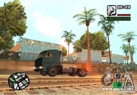Kamaz 5460 para GTA San Andreas left