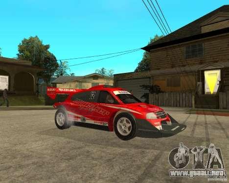 Suzuki Escudo Pikes Peak para la visión correcta GTA San Andreas