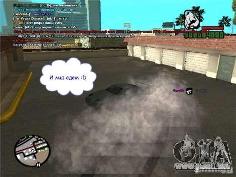 Conducir su coche en cualquier lugar para GTA San Andreas segunda pantalla