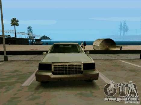 Una limusina corta para visión interna GTA San Andreas