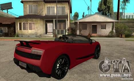 Lamborghini LP570-4 Performante 2011 para la visión correcta GTA San Andreas