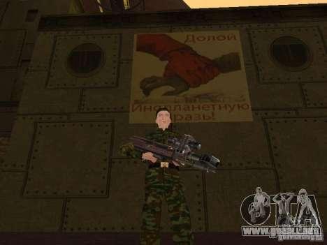 Soldados del ejército ruso para GTA San Andreas séptima pantalla