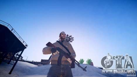 La nueva AK-47 para GTA 4