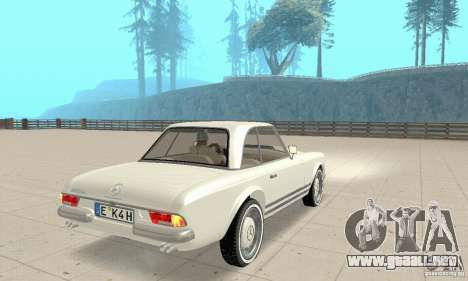 Mercedes-Benz 280SL (brillante) para GTA San Andreas left