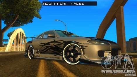 ENBSeries by Fallen para GTA San Andreas octavo de pantalla