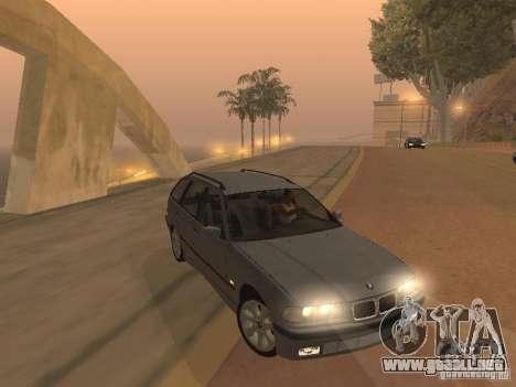 BMW 318 Touring para GTA San Andreas vista posterior izquierda