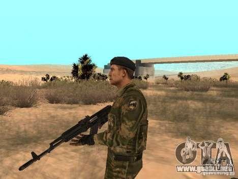 Comando soviético para GTA San Andreas segunda pantalla