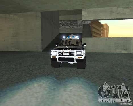Toyota Surf v2.1 para visión interna GTA San Andreas