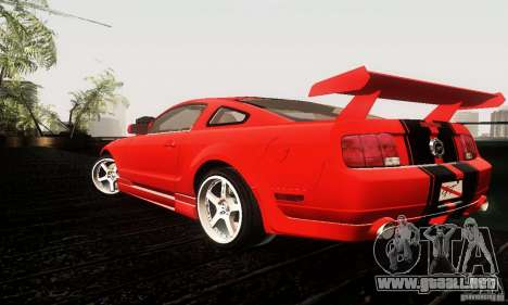 Ford Mustang GT Tunable para la visión correcta GTA San Andreas