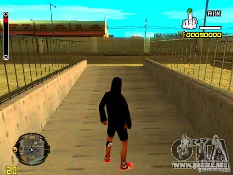 Piel vago v7 para GTA San Andreas segunda pantalla