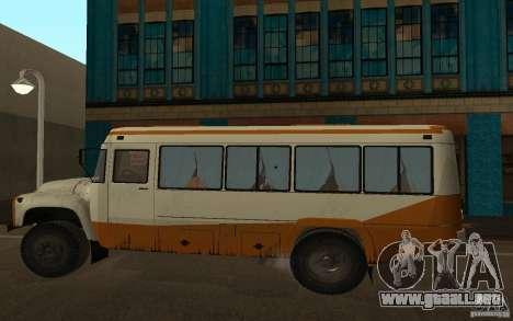 Kavz 3976 KAVZOZIL para GTA San Andreas left