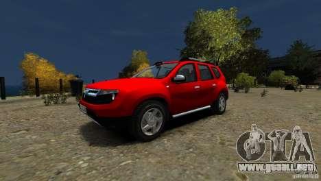 Dacia Duster SUV 4x4 2010 para GTA 4