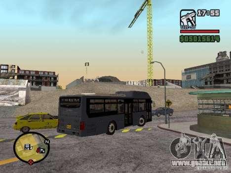 Daewoo BS110CN para GTA San Andreas left