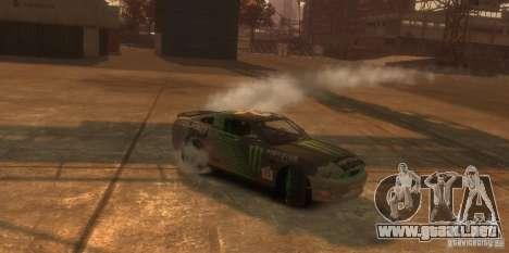 Ford Mustang Monster Energy 2012 para GTA 4 vista interior