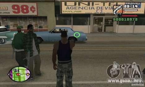 Nueva vista para GTA San Andreas séptima pantalla