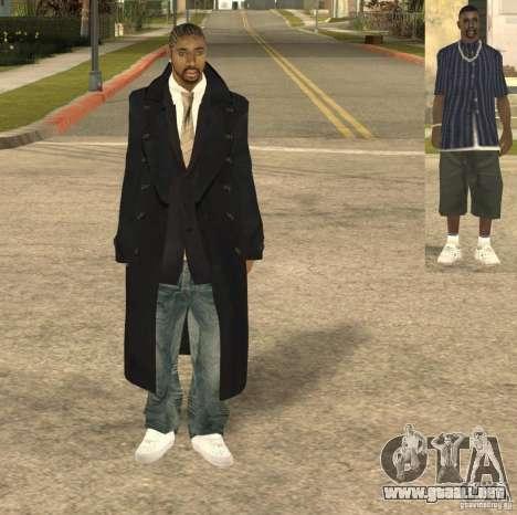 Casual Man para GTA San Andreas segunda pantalla