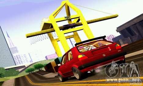 Volkswagen Golf MkII Racing para GTA San Andreas left