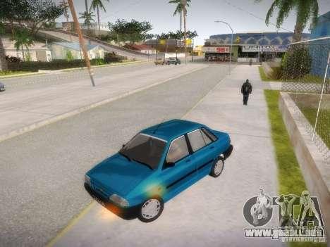 Kia Pride 131 para visión interna GTA San Andreas