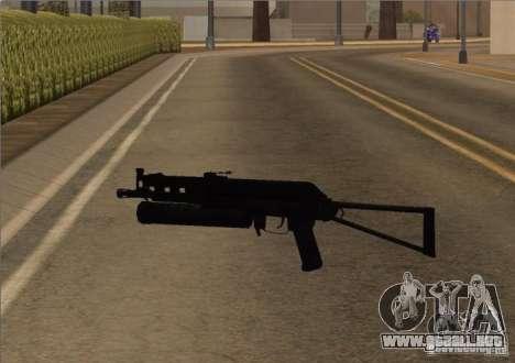 Pak domésticos armas versión 6 para GTA San Andreas segunda pantalla