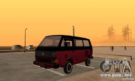 Volkswagen T3 Rusty para GTA San Andreas