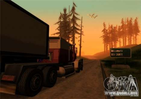 Camiones v2.0 para GTA San Andreas segunda pantalla