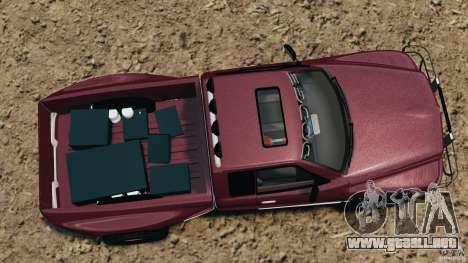 Dodge Ram 2500 Army 1994 v1.1 para GTA 4 visión correcta