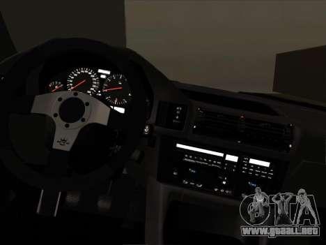 BMW M5 E34 NeedForDrive para visión interna GTA San Andreas