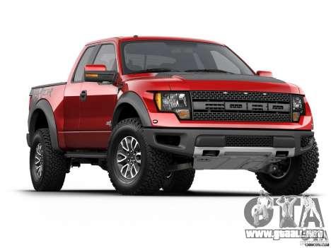 Pantallas de carga Ford para GTA San Andreas quinta pantalla