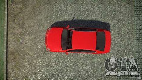 Toyota Aristo para GTA 4 vista hacia atrás