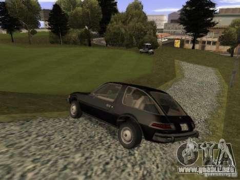 AMC Pacer para GTA San Andreas left
