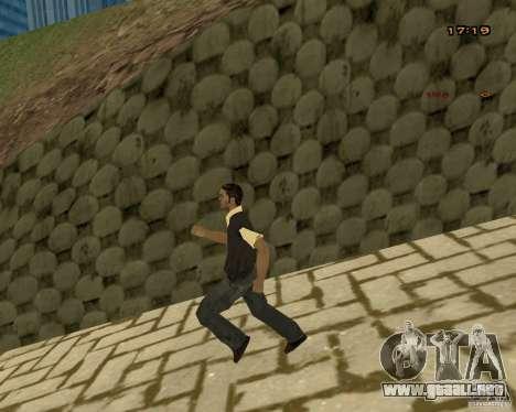 Nuevas animaciones para GTA San Andreas quinta pantalla