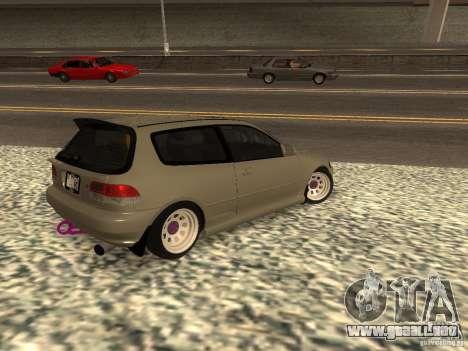Honda Civic EG6 JDM para GTA San Andreas left