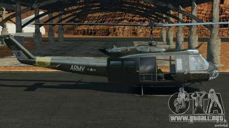 Bell UH-1 Iroquois para GTA 4 left