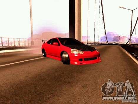 Acura RSX Drift para GTA San Andreas