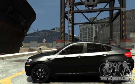 BMW X6 M para GTA 4 left