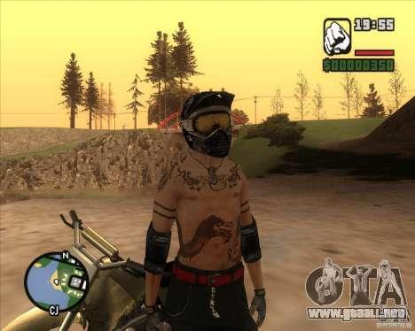 El piloto de combustible para GTA San Andreas