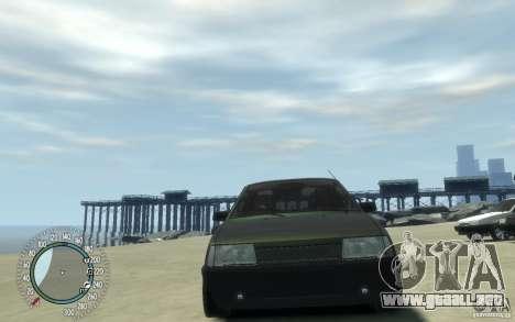 VAZ 21099 Duplet para GTA 4 visión correcta