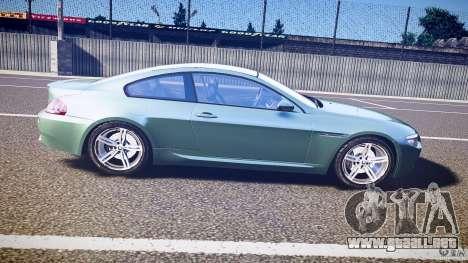 BMW M6 v1.0 para GTA 4 vista lateral