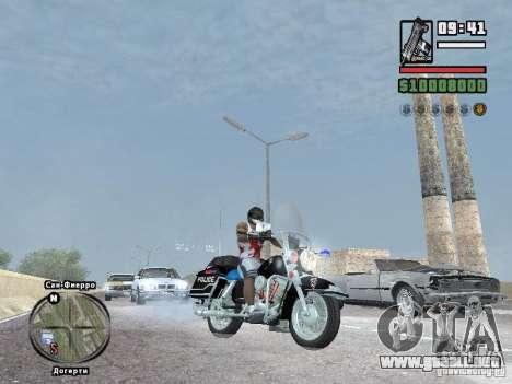 Helmet mod para GTA San Andreas