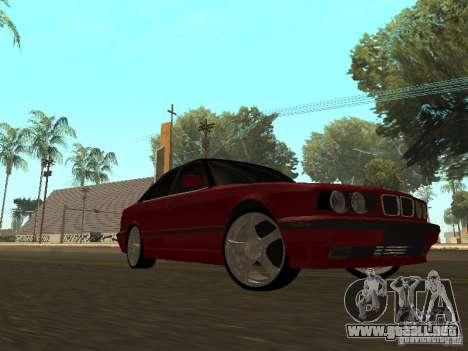 BMW 540i E34 para GTA San Andreas left