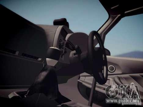 Honda S2000 JDM Dirft para GTA San Andreas vista hacia atrás