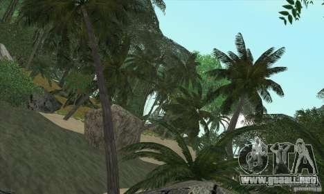 Isla tropical para GTA San Andreas tercera pantalla